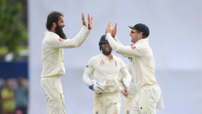 Leach & Moeen spin England to first overseas victory for two years