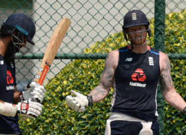 England name unchanged XI; Stokes to bat No.3