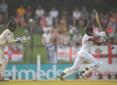 Sri Lanka batsmen fight back on day two to gain first-innings lead