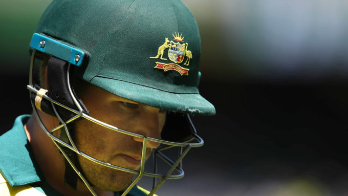 Aaron Finch reveals 'huge anxiety' over World Cup selection