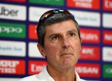 Mark Robinson steps down as England Women head coach