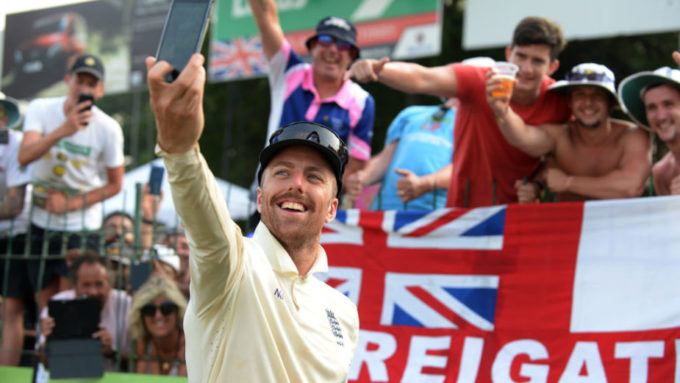 'Knackered' Leach takes centre-stage in England victory