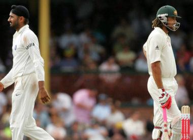 Ten years after Monkeygate, Harbhajan & Symonds disagree again