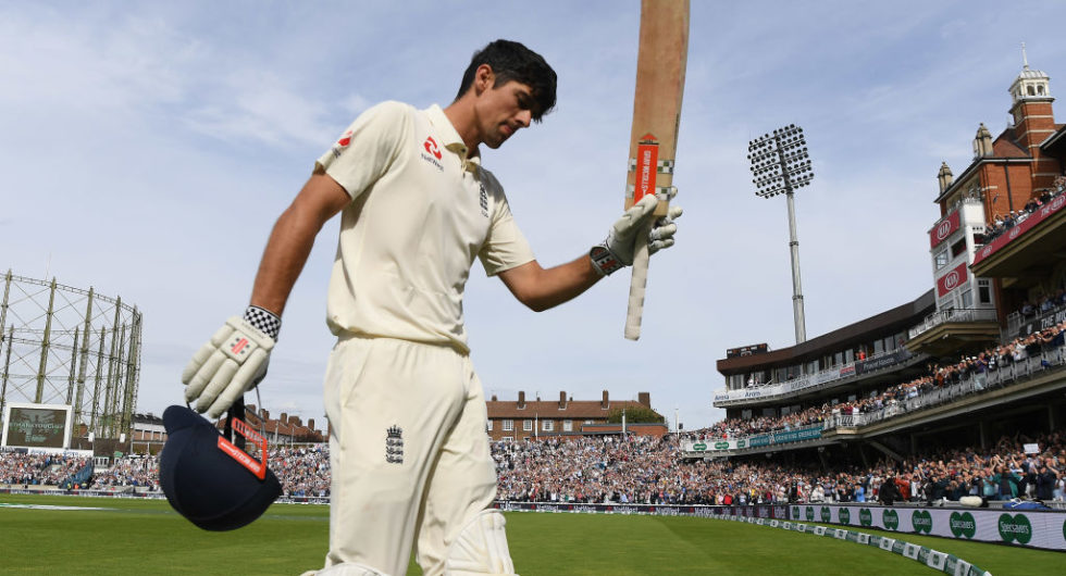Alastair Cook knighted