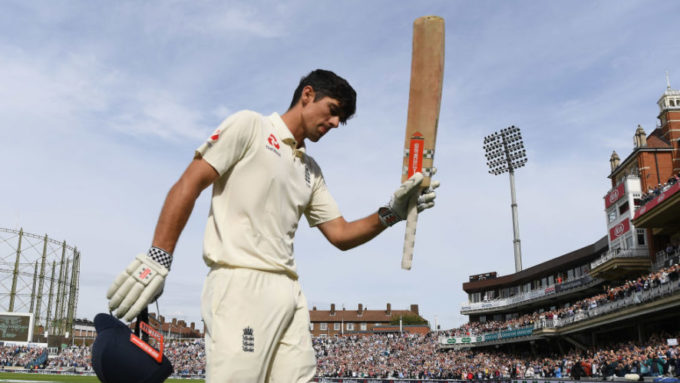 Alastair Cook knighted in New Year Honours List
