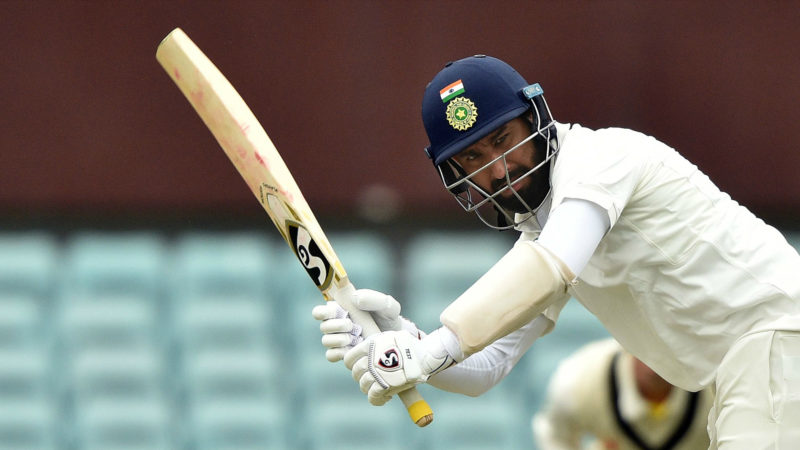 Pujara averages 33.50 in Tests in Australia with just one half-century