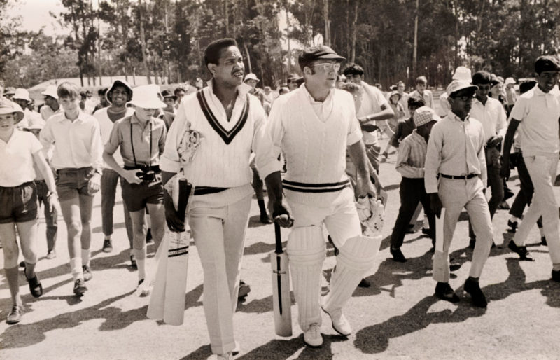 Garry Sobers with Eddie Barlow