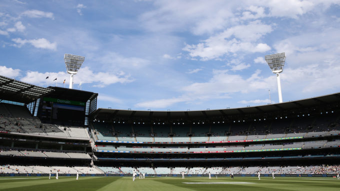 Spectators ejected from the MCG for racist chanting