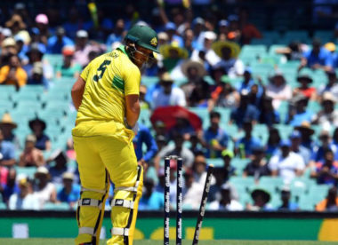 'I was the weak link' –  Aaron Finch bemoans poor form after loss to India