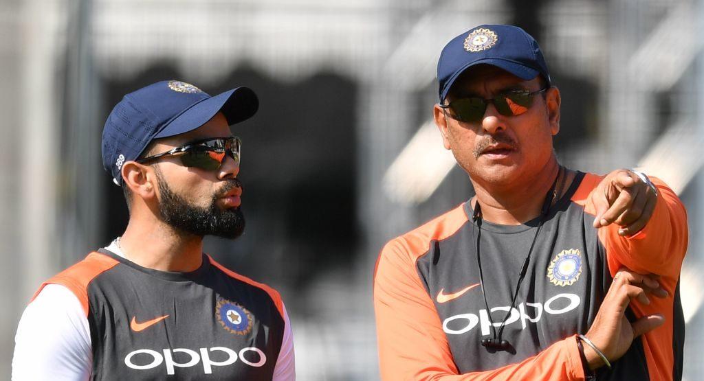 Shastri has the backing of India captain Virat Kohli