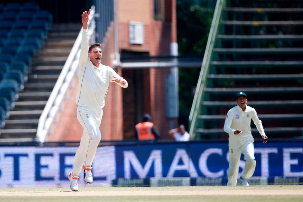 Duanne Olivier claimed 24 wickets in the three Tests against Pakistan