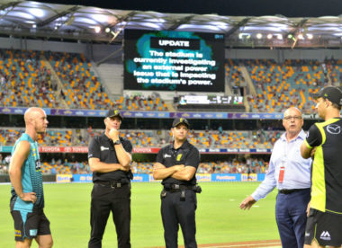 CA to offer free Test tickets to fans after BBL power outage