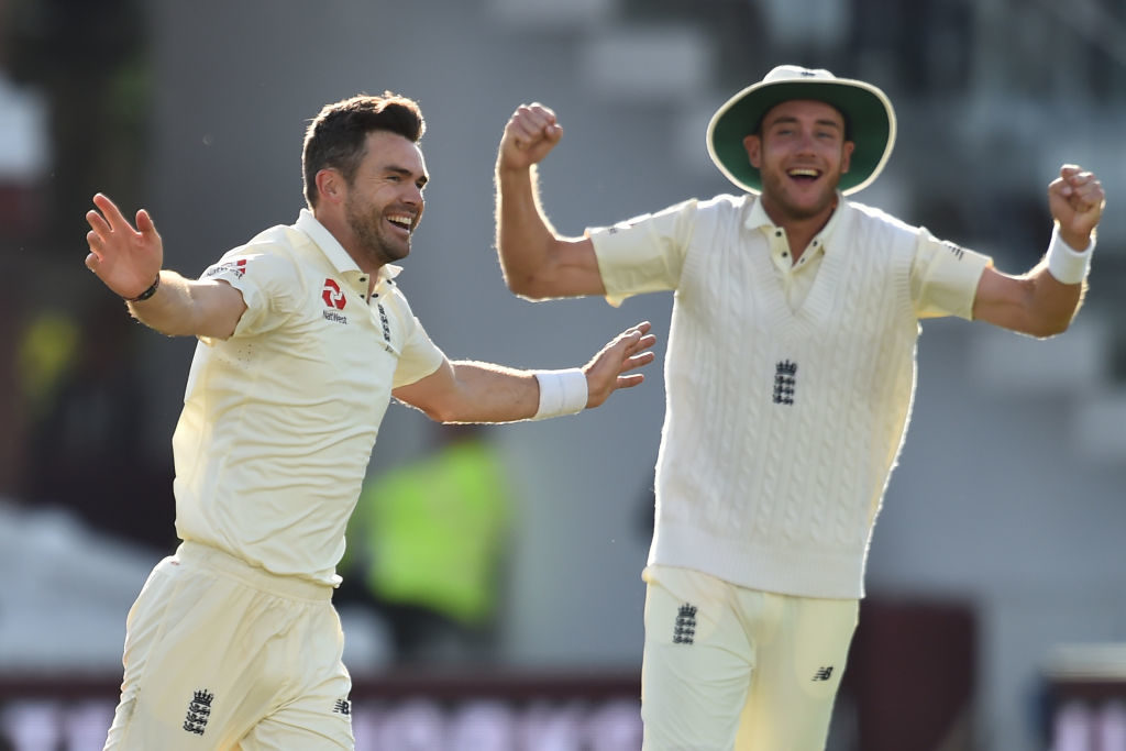 With Jimmy Anderson and Stuart Broad moving the Dukes ball, Rogers said it'd be hard for Australia in the Ashes