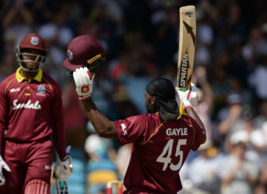 Chris Gayle begins ODI swansong in signature style