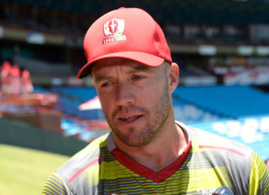 'International scene became a little bit too much for me' – AB de Villiers