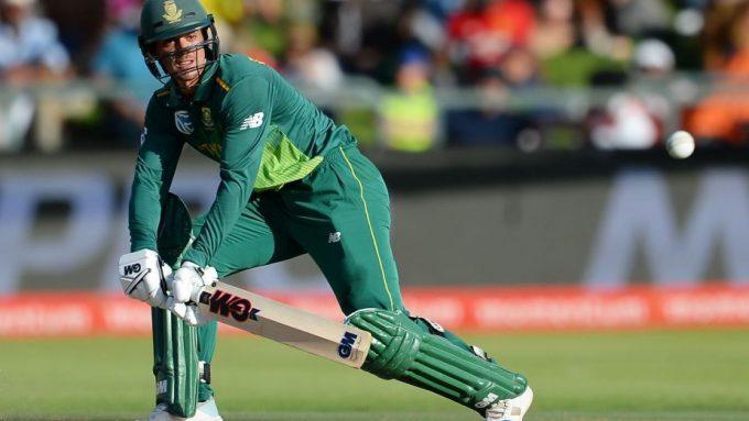Quinton de Kock named as T20I skipper for India tour