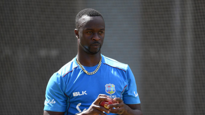 Injured Kemar Roach in doubt for England ODIs