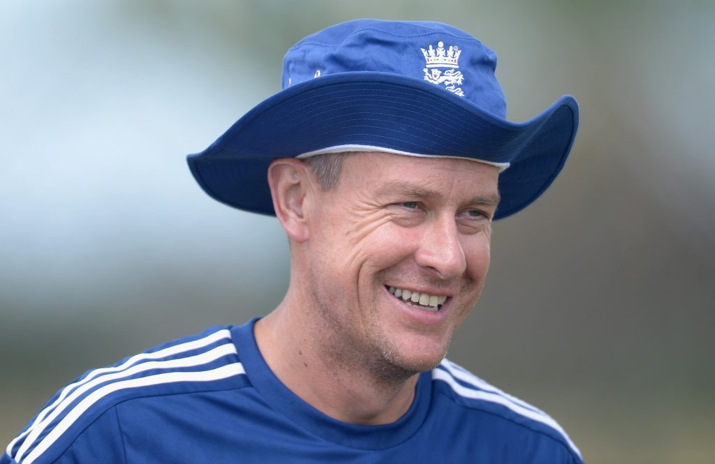 Ashley Giles wants the split the role of assistant coach into three