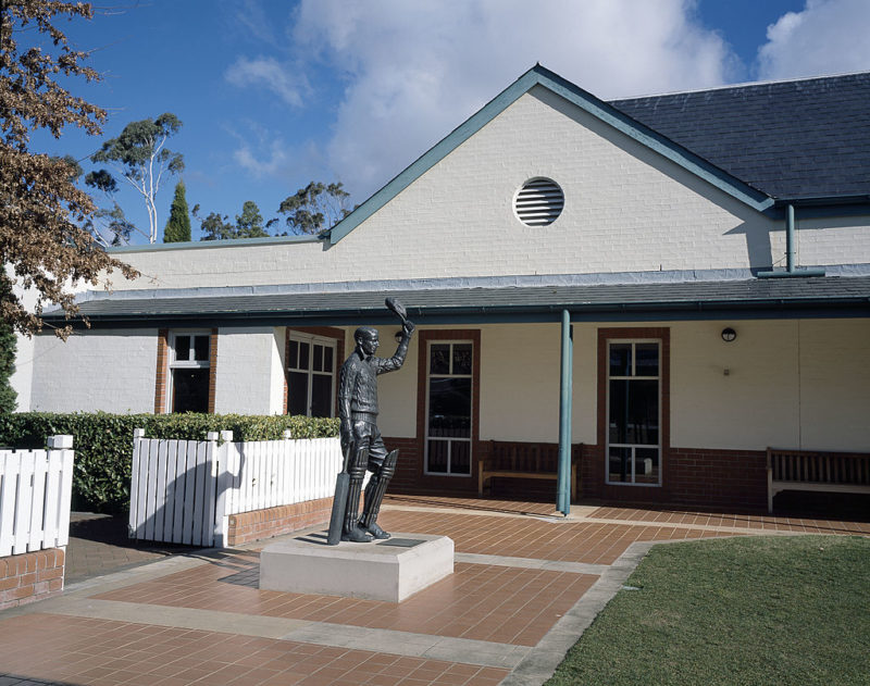The Bradman Museum in Bowral