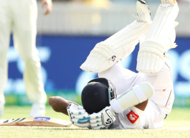 Karunaratne discharged from hospital after Cummins bouncer strikes neck