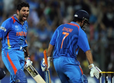 Yuvraj Singh tips 'cricket brain' MS Dhoni for World Cup berth