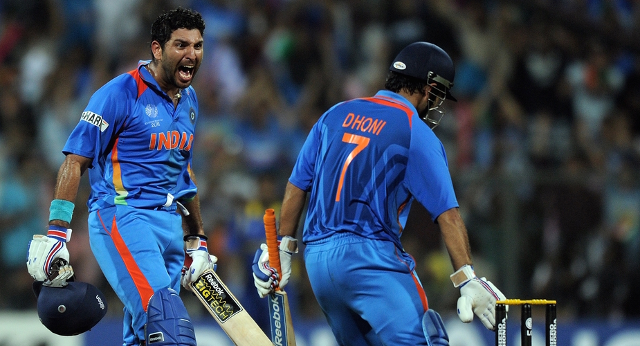 Yuvraj tips 'Cricket Brain' MS Dhoni For World Cup Berth | Wisden ...
