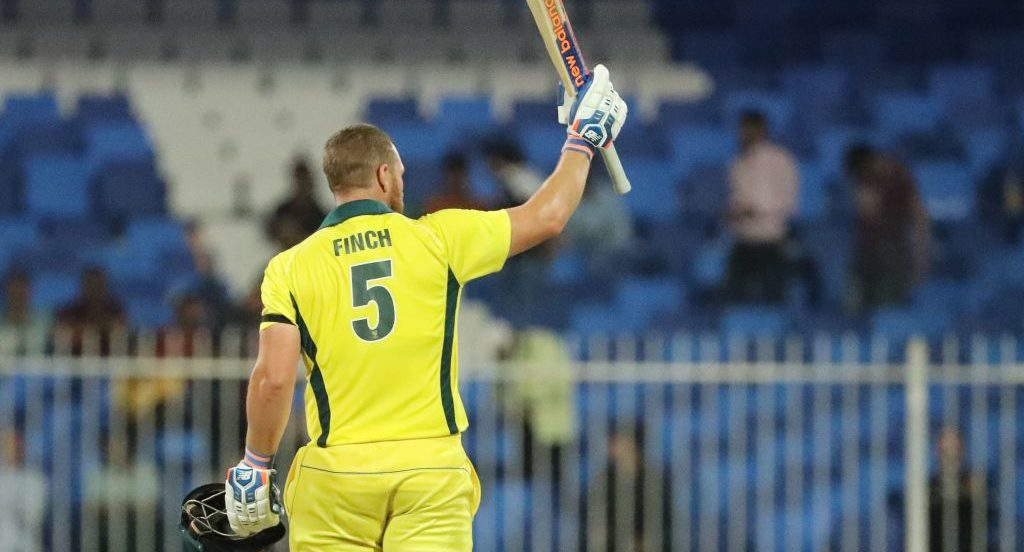Aaron Finch's turn in form has reassured the player he is good enough
