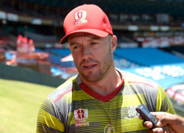 De Villiers out of Pakistan leg of PSL