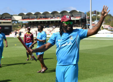 'It's been an honour to wear the crest' – Chris Gayle finishes off at home in style