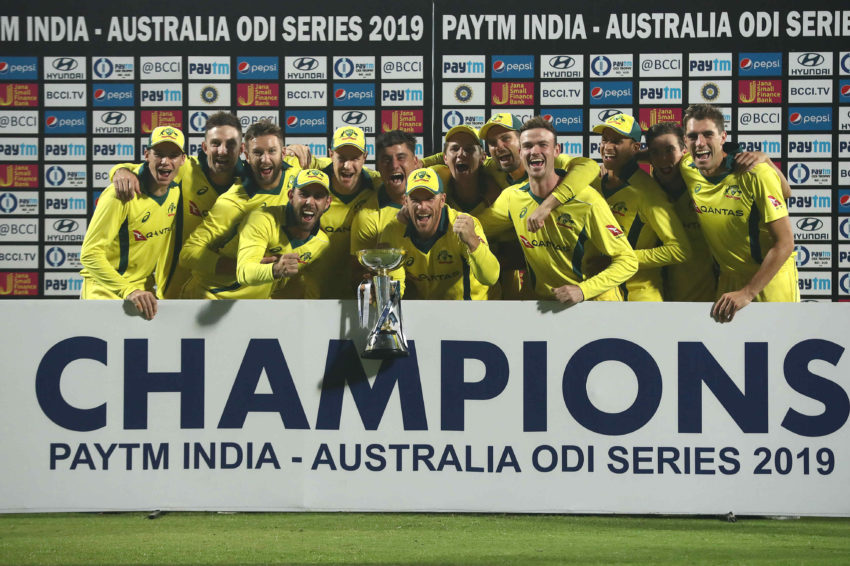 Australia won the five-match ODI series 3-2 against India