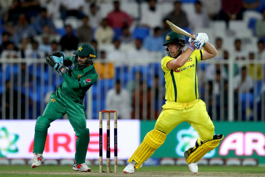 Aaron Finch made 116, 153* and 90 in the first three ODIs against Pakistan