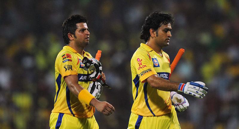 Dhoni Raina IPL