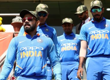 'Strongly taken up the matter with ICC' – PCB affronted by India's military cap display