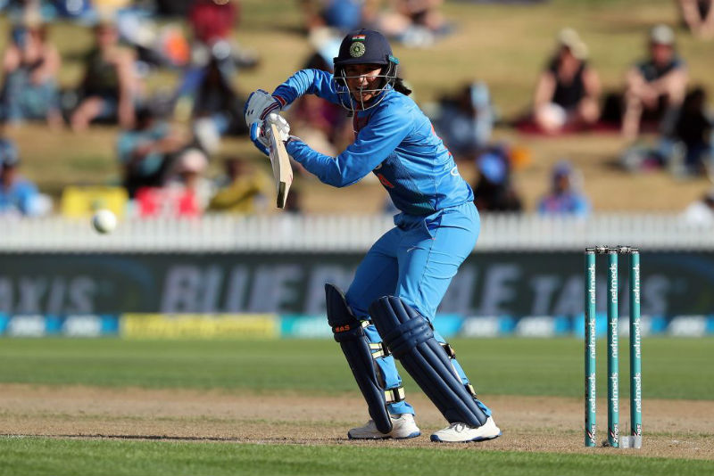 Things unravelled quickly for India once Mandhana was dismissed for 58