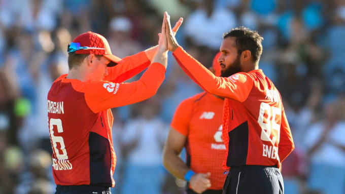 Adil Rashid right up there among the best – Eoin Morgan