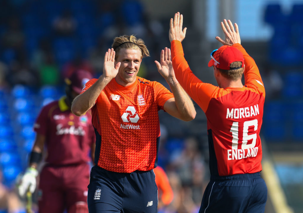 David Willey questioned the potential inclusion of Jofra Archer in the World Cup squad
