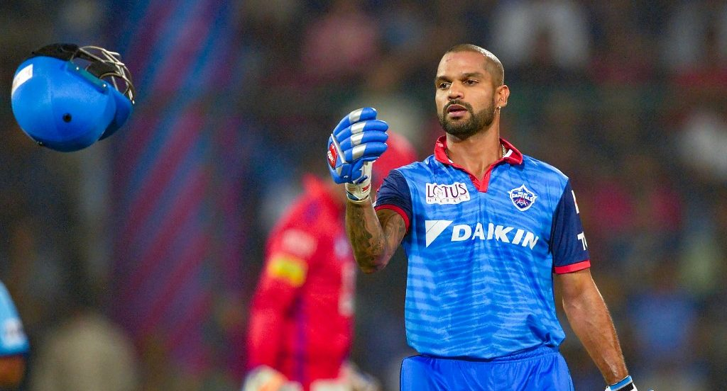 Shikhar Dhawan bolstered Delhi at the top