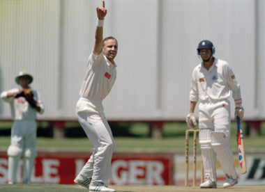 'They persuaded me that I was good enough to play for England' – Allan Donald