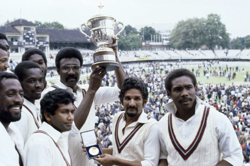 West Indies captain Clive Lloyd led his team to their second World Cup title in 1979 at Lord's