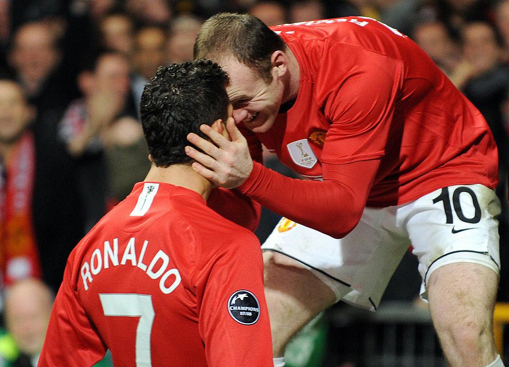 <em>Cristiano Ronaldo and Wayne Rooney got past their World Cup 2006 tiff</em>
