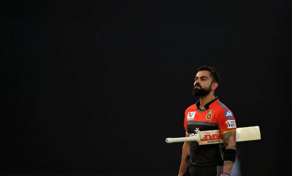 Virat Kohli is not impressed ...