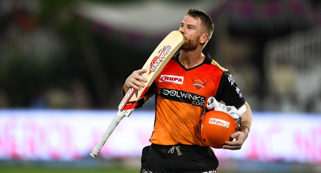 David Warner made up for lost time