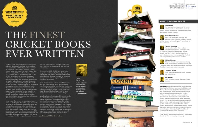 Best Cricket Books Ever: The Debate – Who Made Top Seven