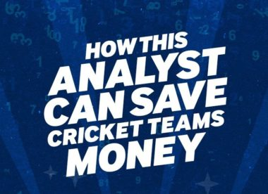 How this gambler-turned-analyst can save cricket teams money