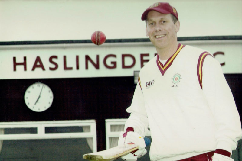 Mike Ingham's 824 senior appearances, all for Haslingden, is a league record