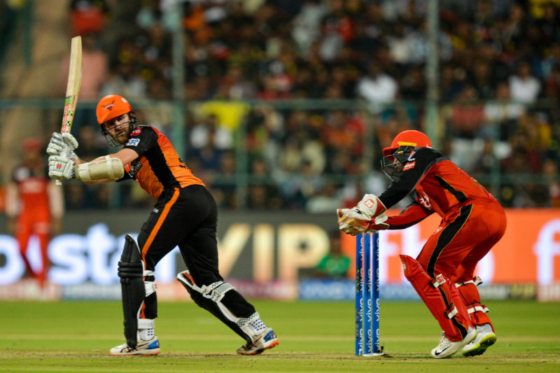 Skipper Kane Williamson top-scored Hyderabad with a 43-ball 70*