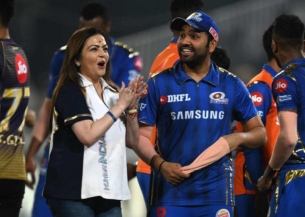 Ambani's prayers did it for Mumbai