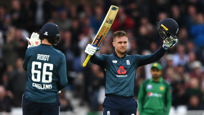 'A special one for me and my family' – Jason Roy on emotional hundred