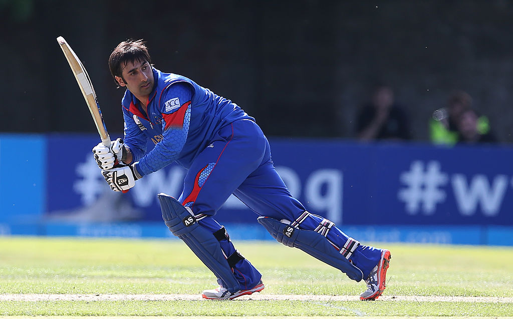 Afghan was axed as Afghanistan captain shortly before the World Cup