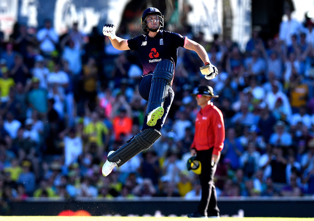 Jos Buttler has moved higher up the England batting line-up, but retains the finishing skills